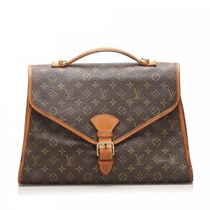 Louis Vuitton borsa ventiquattrore marrone