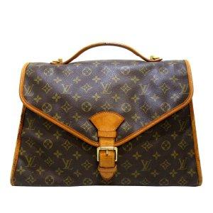 Louis Vuitton Zakentas donkerbruin