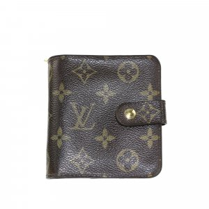 Louis Vuitton Monogram Bi-Fold Compact Small Wallet