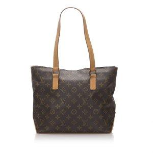 Louis Vuitton Bolso de compra marrón