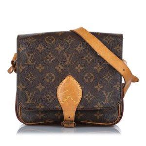Louis Vuitton Monogram Cartouchiere MM