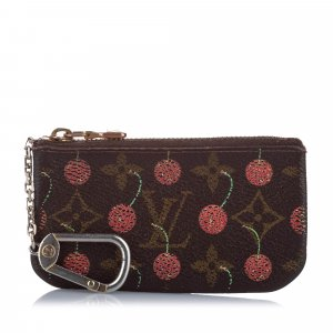 Louis Vuitton Monogram Cerises Key Holder