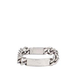 Louis Vuitton Bransoletka srebrny Metal