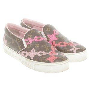 Louis Vuitton Monogram Chain Mokassins Schuhe Sneaker Loafer Mules
