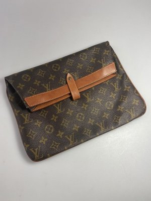 Louis Vuitton Monogram Clutch, Vintage