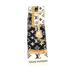 Louis Vuitton Sciarpa nero Seta
