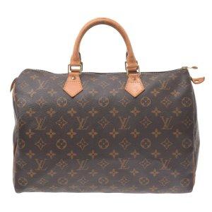 Louis Vuitton Bagaglio marrone Fibra tessile