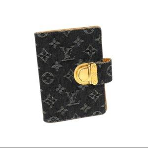 Louis Vuitton Minibolso negro Algodón