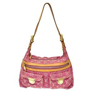Louis Vuitton Bolsa de hombro rosa
