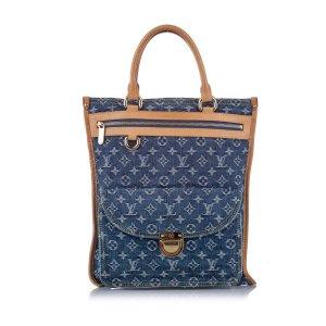 Louis Vuitton Monogram Denim Sac Plat