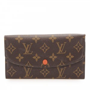 Louis Vuitton Monogram Emilie Long Wallet
