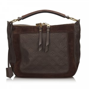 Louis Vuitton Sacoche brun foncé cuir