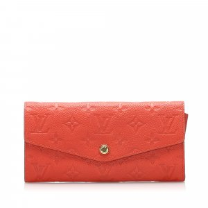 Louis Vuitton Monogram Empreinte Curieuse Long Wallet