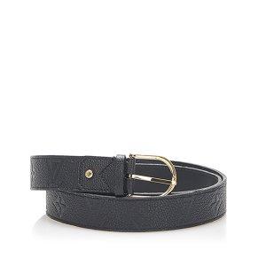 Louis Vuitton Monogram Empreinte Leather Belt