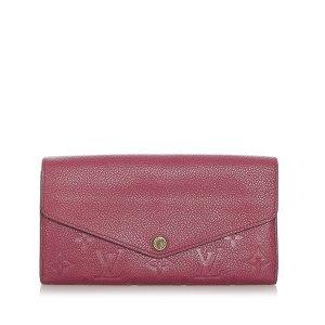 Louis Vuitton Monogram Empreinte Portefeuille Sarah Wallet