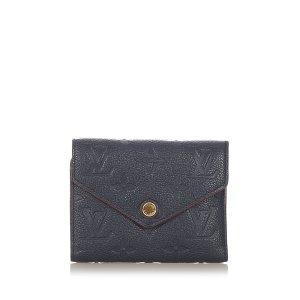 Louis Vuitton Monogram Empreinte Victorine Wallet
