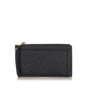 Louis Vuitton Monogram Empreinte Zip Coin Pouch