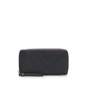 Louis Vuitton Monogram Empreinte Zippy Long Wallet
