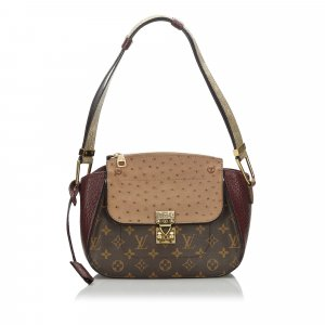 Louis Vuitton Monogram Exotique Majestueux Shoulder Bag