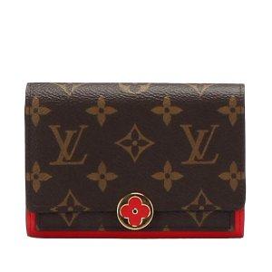 Louis Vuitton Monogram Flore Compact Wallet