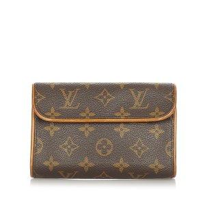 Louis Vuitton Riñonera marrón