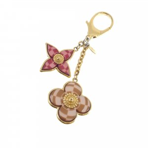 Louis Vuitton Key Chain gold-colored metal