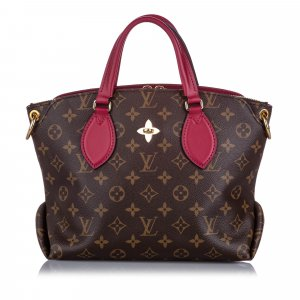 Louis Vuitton Monogram Flower Zipped Tote PM