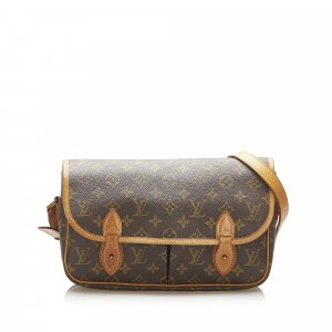 Louis Vuitton Monogram Gibeciere MM