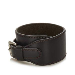 Louis Vuitton Monogram Glace Cuff Bracelet