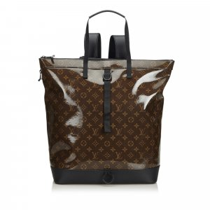 Louis Vuitton Backpack dark brown