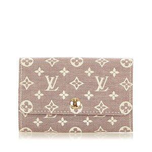 Louis Vuitton Étui porte-clés marron clair