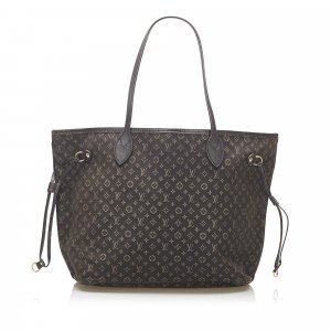 Louis Vuitton Tote dark brown cotton