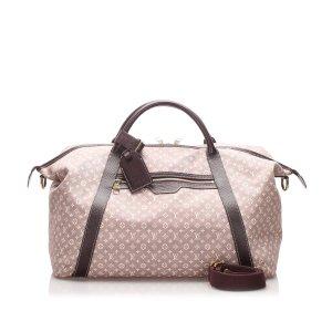 Louis Vuitton Travel Bag brown cotton