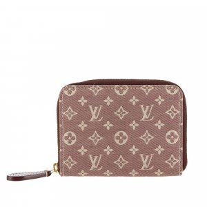 Louis Vuitton Monogram Idylle Zip Around Wallet