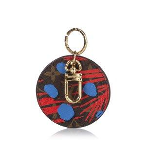 Louis Vuitton Monogram Illustre Jungle Key Holder