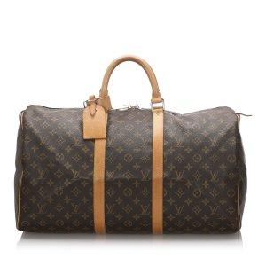 Louis Vuitton Travel Bag brown
