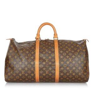 Louis Vuitton Monogram Keepall 55