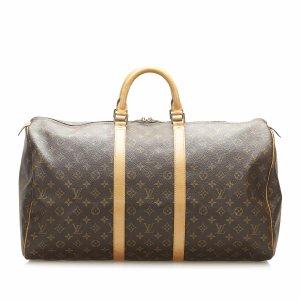 Louis Vuitton Torba podróżna brązowy