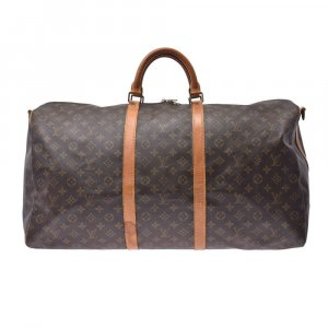 Louis Vuitton Monogram Keepall Band Barriere 60