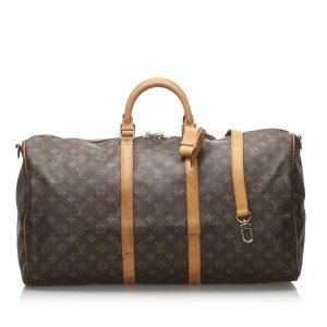 Louis Vuitton Monogram Keepall Bandouliere 55
