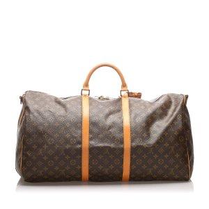 Louis Vuitton Monogram Keepall Bandouliere 60