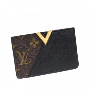 Louis Vuitton Tarjetero marrón