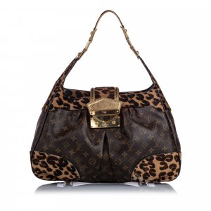 Louis Vuitton Sac hobo brun
