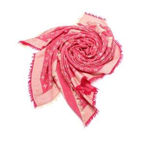 Louis Vuitton Scarf pink wool