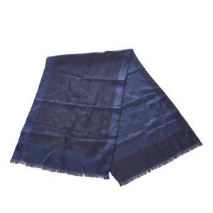 Louis Vuitton Scarf dark blue wool