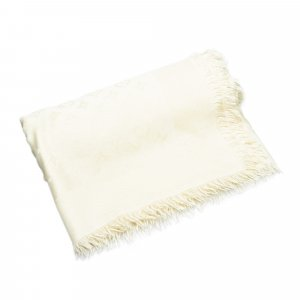 Louis Vuitton Scarf white silk