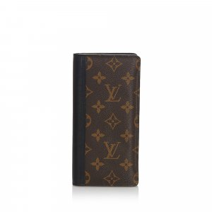 Louis Vuitton Monogram Macassar Tanon Wallet