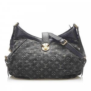 Louis Vuitton Monogram Mahina Denim XS