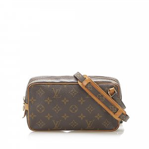 Louis Vuitton Crossbody bag dark brown