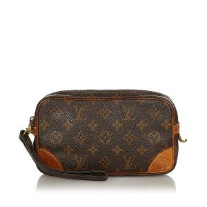 Louis Vuitton Clutch bruin